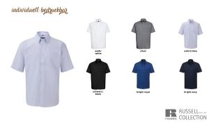 Klassisches Oxford Hemd Men - Kurzarm