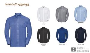 Klassisches Oxford Hemd Men - Langarm