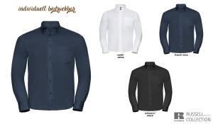 Klassisches Twill Hemd Men - Langarm