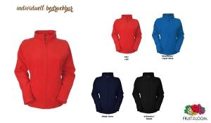 Full Zip Fleece Jacke Ladies