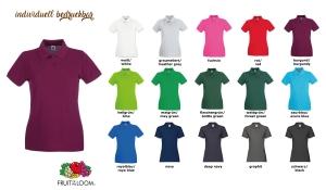 Ladies Premium Polo-Shirt