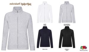 Ladies Premium Sweat Jacke