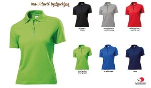 Polo-Shirt Women - farbig