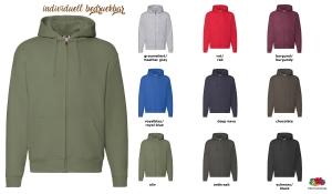Premium Hooded Sweat Jacket Men