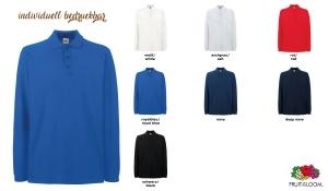 Premium Long Sleeve Polo Unisex