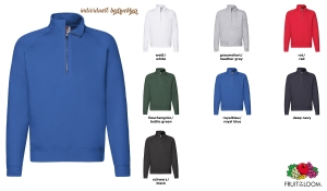 Premium Zip Neck Sweat Shirt Men