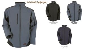 Workwear Ripstop Softshell Jacke Unisex