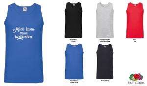Valueweight Athletic Vest Herren - farbig