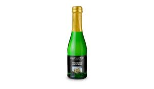 Sekt Cuvée Piccolo - Flasche grün - Kapsel gold, 0,2 l