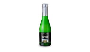 Sekt Cuvée Piccolo - Flasche grün - Kapsel silber, 0,2 l