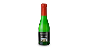 Sekt Cuvée Piccolo - Flasche grün - Kapsel rot, 0,2 l