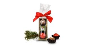 Geschenkset / Präsenteset: 3er Pralinenstange