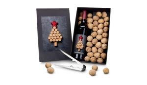 Geschenkset / Präsenteset: Wein-Ge-Nüsse