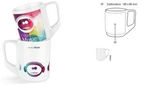 Tasse Solid inklusive Sublimation