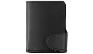 Mini-Geldbörse IWalletDeLuxe schwarz