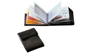 Visiten- Scheckkartenetui Card schwarz