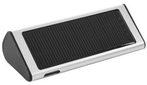Solar-Charger Sun&Service silber