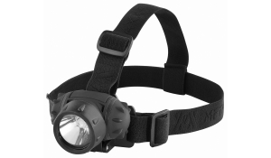 LED MegaBeam Kopflampe HeadLightSecurityEvo schwarz