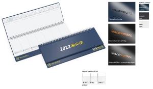 Tischquerkalender 2022 Boss Kunststoff