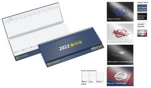 Tischquerkalender 2022 Boss Polyprop