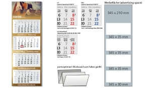 4-Monatskalender 2022 Centrum 4