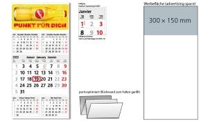 5-Monatskalender 2022 Commerce 5 Post