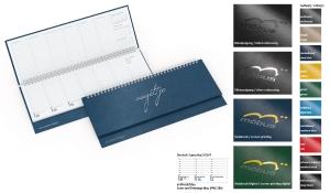Tischquerkalender 2022 Compact