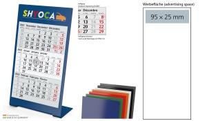 3-Monatskalender 2022 Desktop 3 Color 1-Jahr inklusive Werbeeindruck