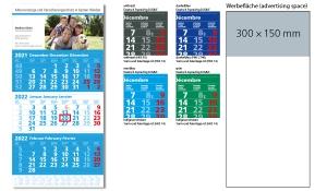 3-Monatskalender 2022 Extra 3