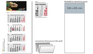 4-Monatskalender 2022 Forum Light 4 inklusive Werbeeindruck