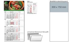 4-Monatskalender 2022 Konzept 4 Post