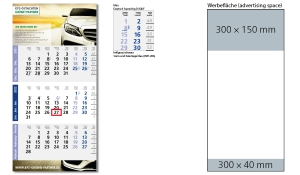 3-Monatskalender 2022 Logic 3 B