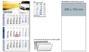 3-Monatskalender 2022 Logic 3 Post A inklusive Werbeeindruck