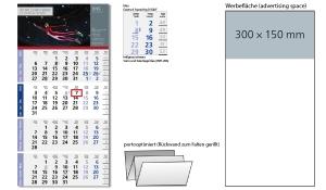 4-Monatskalender 2022 Logic 4 Post A inklusive Werbeeindruck