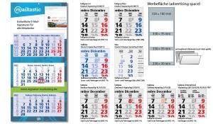 3-Monatskalender 2022 Maxi Light 3