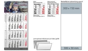 4-Monatskalender 2022 Mega 4 Post B