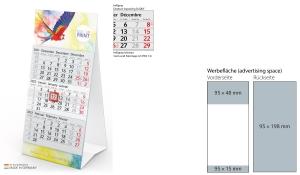 3-Monatskalender 2022 Mini 3 inklusive Werbeeindruck