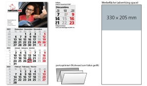 3-Monatskalender 2022 Orbit 3 Post