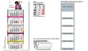 5-Monatskalender 2022 Penta Light 5 inklusive Werbeeindruck