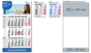 3-Monatskalender 2022 Primus 3 B