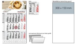 3-Monatskalender 2022 Primus 3 Post A inklusive Werbeeindruck