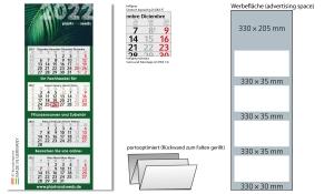 4-Monatskalender 2022 Profil 4 Recycling