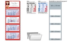 4-Monatskalender 2022 Quadro 4 Standard