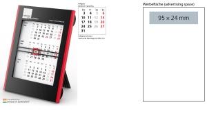 3-Monatskalender 2022 Roll-Up 3 inklusive Werbeeindruck