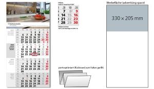 4-Monatskalender 2022 Square 4 Post