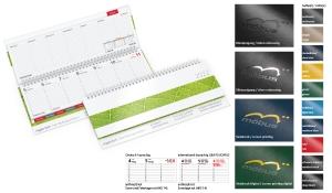 Tischquerkalender 2022 Tempo Register
