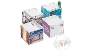 Zettelbox, doppelwandig mit Köcher 7005 KPC