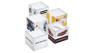 Zettelbox, doppelwandig 7005 PC