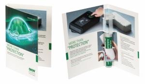 Cover Card für Spray Sticks