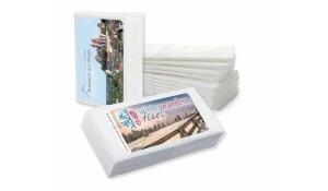 Taschentücher inkl. 4c-Etikett